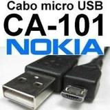 Lote 5n Cabos Usb Original Nokia Ca-101 Dados/ Carga Cel.