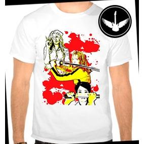 Camiseta Kill Bill Filme Cult Geek Baby Look Regata