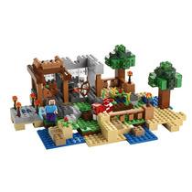 Minecraft Lego Crafting Box 8 En 1 Art. 21116 518 Piezas