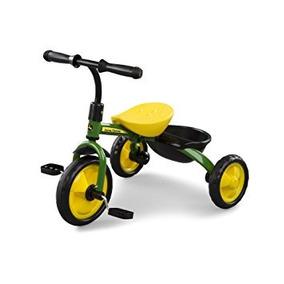 John Deere Acero Triciclo Verde