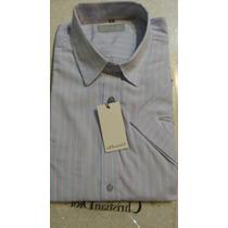 Camisa Cristian Dior M Corta Y Larga/ Excelente Calidad