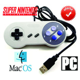 Mando Super Nintendo Snes Para Pc/mac + 1,000 Juegos En Caja