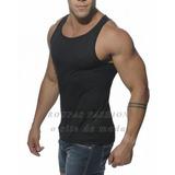 Camiseta Regata Masculina Temos Long Line Kit ,camisas,cueca