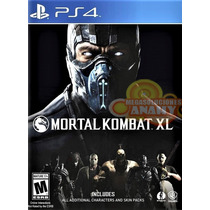 Mortal Kombat Xl Edition Ps4 Playstation 4 Juego Disc Físico