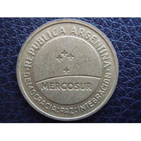 Argentina - Moneda De 50 Centavos Mercosur, 1998 - Muy Bueno