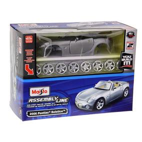 Kit Para Montar Pontiac Solstice 2006 1:24 Maisto 39993-pa