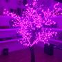 Árvore Decorativa Com Luzes De Led Rosas S/juros S/frete