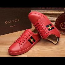 9ec1b80ce Tenis Gucci Rojos cambiaexpress.es
