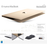 Nueva Macbook Retina 12 - Intel Core M 1.2ghz Ssd 512gb