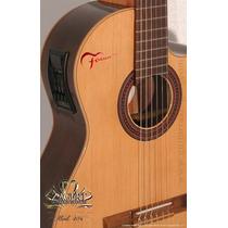 Fonseca 40 Kec Guitarra Electroacustica Nylon