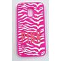 Funda Silicona Pink Samsung S5 Mini Fucsia Rosa