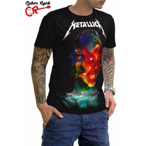 Camiseta Rock Metallica Hardwired (cm-191)
