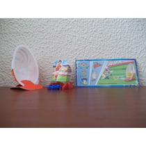 Miniatura Kinder Joy - Jogo De Futebol - Dc304e