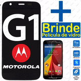 Tela Touch Display Lcd Frontal Moto G1 + Pelicula De Vidro