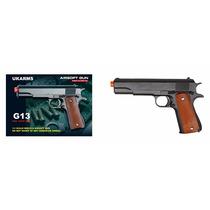 Pistola Airsoft Gun, Modelo G13, C/2000 Bbs Incluidos.