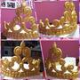 Adornos Para Tortas Coronas , 15 Años ,princesas