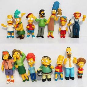 Os Simpsons Kit 14 Bonecos