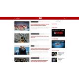 Template Wordpress Clone Portal G1 2017 Administrável