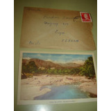 Tarjeta Postal Cordoba. Balneario Capilla Del Monte + Sobre.