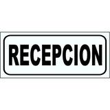 Cartel Recepción / Dirección / Informes / Consultorio