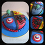 Tortas Artesanales Avengers Vengadores