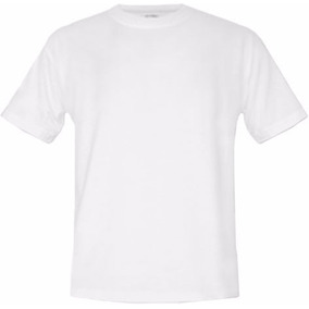 Camisa Gola Careca 100% Poliester P/ Sublimacao Pacote De 10