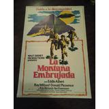 Afiche Original Zorro La Montaña Embrujada Disney