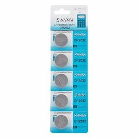 Bateria Lithium Cr2032 3v - Cartela C/5 Unidades