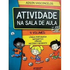 Coleção Atividade Na Sala De Aula 1º Ano Editora Rideel