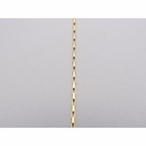 Cordão Cartier Masculino + Pingente De Figa Em Ouro 18k-750