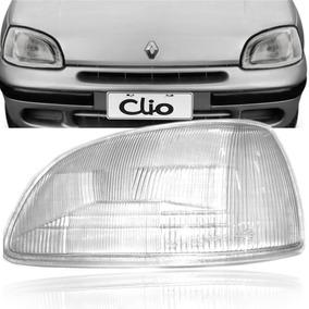 Lente Farol Esquerdo Renault Clio 96 97 98 99