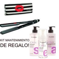 Plancha Kiss Babyliss Para Alisado+kit Mantenimiento Alisado