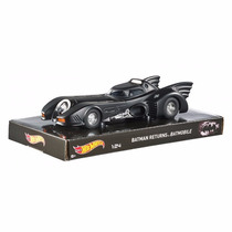 Batmovel Batmobile 1989 Batman 1:24 Hot Wheels