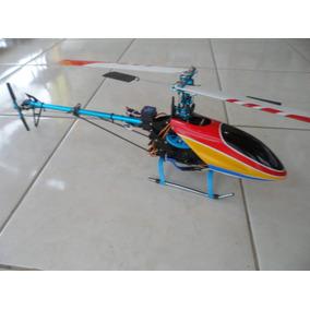 Helicóptero Hausler Classe 450 V2 Clone T-rex Montado