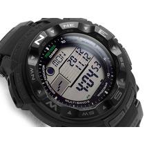 Reloj Casio Protrek Prw2500-1a Solar Atómico Triple Sensor