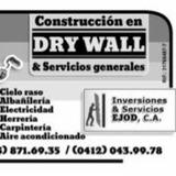 Drywall Y Cielo Raso Inversiones Y Servicios Ejod C.a