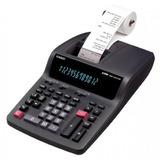 Calculadora Con Impresora Casio Dr-120tm-bk