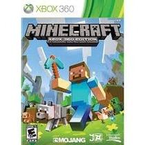 Minecraft Xbox 360 Midia Fisica Original E Lacrado Jogo