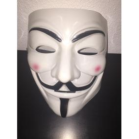 Máscara Clon Anonymous V De Venganza Disfraz Halloween Envío