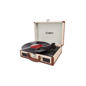 Ion Vinyl Motion Deluxe Tornamesa Usb Acetatos Convierte Mp3