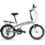 Bicicleta Plegable Top Mega 20 Folding Shim 6 Vel Cordoba