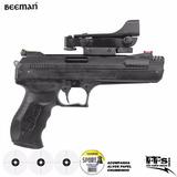 Pistola De Pressão Beeman P17 Deluxe Red Dot 4.5mm Chumbinho