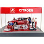 2004 Citroen Xsara Wrc Diorama Rally Escala 1/43 Marca Ixo