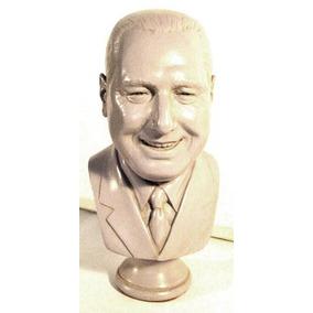 Juan Peron, Busto De Excepcional Parecido Y Expresion