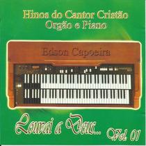 Cd Hinos Do Cantor Cristão - Pianos - Universo Infinito
