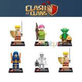 Set 6 Figuras Clash Of Clans Compatibles Con Lego