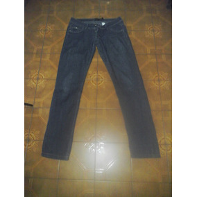 Pantalón Jeans Mujer By Deep Corte Recto