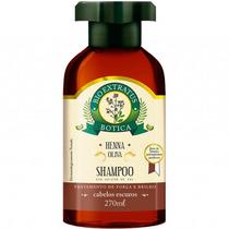 Shampoo Botica Henna/oliva
