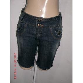 Bermuda Jeans C/ Elastano - República Mix Tam: 42