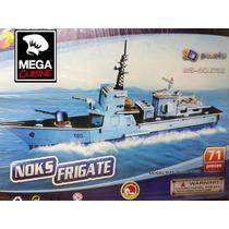 Rompecabezas 3d Puzzle Maqueta Barco De Guerra Fragata 71pza